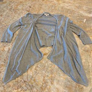 American Eagle light gray cardigan